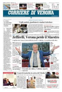 Corriere di Verona – 16 giugno 2019