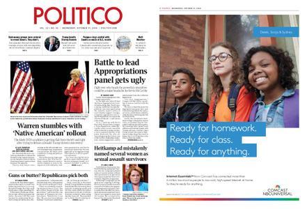 Politico – October 17, 2018