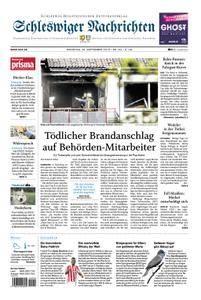Schleswiger Nachrichten - 25. September 2018