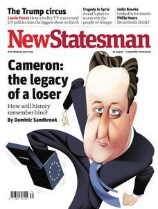 New Statesman - 26 August - 1 September 2016