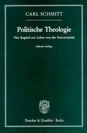 Politische Theologie, Band 1: Vier Kapitel zur Lehre von der Souveränität (10th Edition)