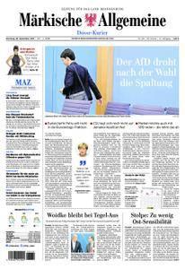 Märkische Allgemeine Dosse Kurier - 26. September 2017