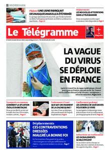 Le Télégramme Auray – 28 mars 2020