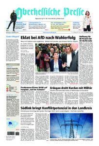 Oberhessische Presse Marburg/Ostkreis - 26. September 2017