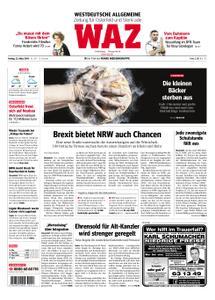 WAZ Westdeutsche Allgemeine Zeitung Oberhausen-Sterkrade - 22. März 2019