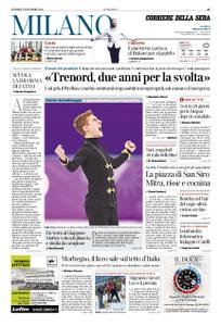 Corriere della Sera Milano – 09 novembre 2018
