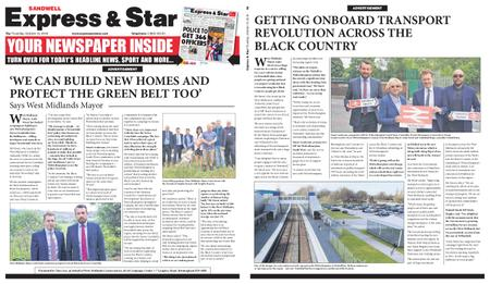 Express and Star Sandwell Edition – October 10, 2019