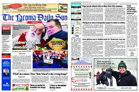 The Laconia Daily Sun – December 12, 2017