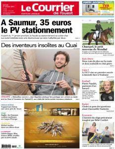 Le Courrier de l'Ouest Angers - 21 Octobre 2017