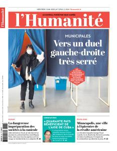 L'Humanite - 3 Juin 2020