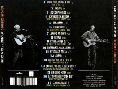 Hannes Wader & Allan Taylor - Old Friends In Concert (2013)