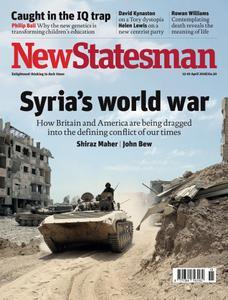 New Statesman - 13 - 19 April 2018