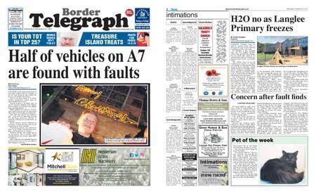 Border Telegraph – December 13, 2017