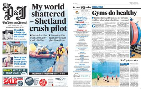 The Press and Journal Moray – September 01, 2020