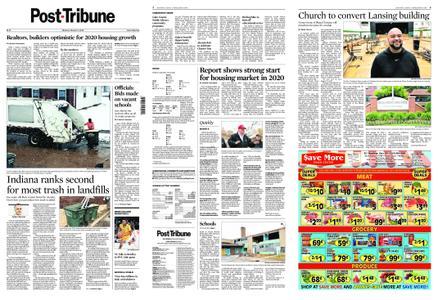 Post-Tribune – March 09, 2020