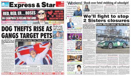 Express and Star Sandwell Edition – February 10, 2018