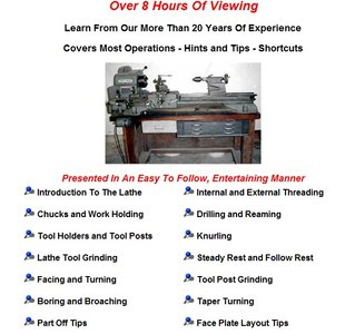 Lathe Learning - A Five Part Instructional