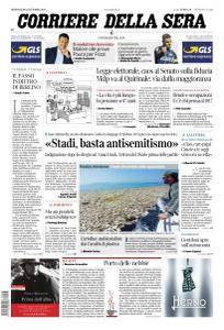 Corriere della Sera - 25 Ottobre 2017