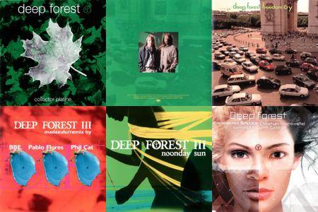 Deep Forest & Projects: Singles & Remixes Part 03 (1997 - 2005)