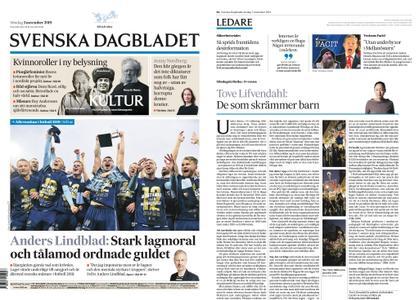 Svenska Dagbladet – 03 november 2019