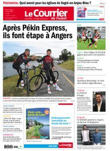 Le Courrier de l'Ouest Angers – 09 mai 2021
