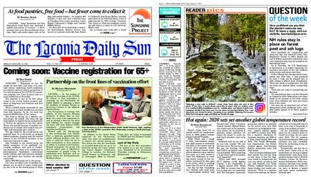 The Laconia Daily Sun – January 15, 2021