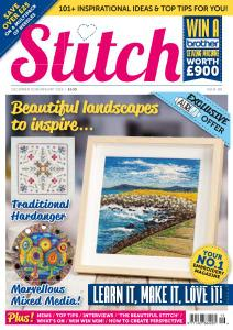 Stitch Magazine - Issue 116 - December 2018 - January 2019