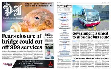 The Press and Journal Moray – August 14, 2019
