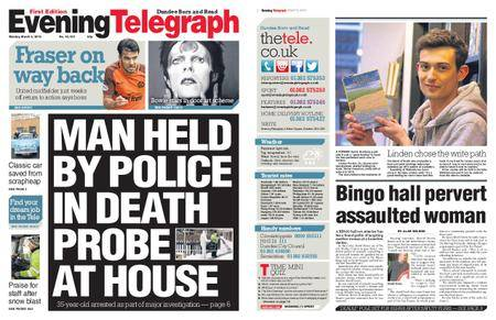 Evening Telegraph First Edition – March 05, 2018