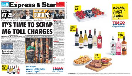 Express and Star City Edition – August 15, 2019