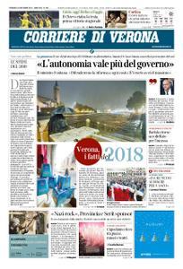 Corriere di Verona – 30 dicembre 2018
