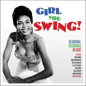 VA - Girl You Swing! (3CD, 2019)
