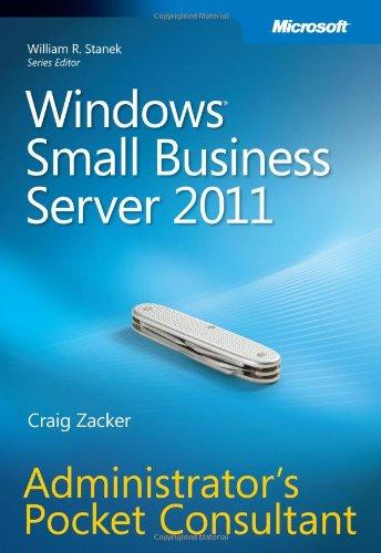 Windows Small Business Server 2011 Administrator's Pocket Consultant