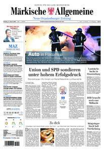 Neue Oranienburger Zeitung - 08. Januar 2018