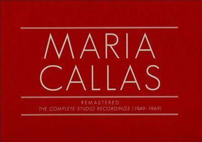 Maria Callas - Remastered (The Complete Studio Recordings 1949 - 1969): Box Set 70CDs (2014) Re-up