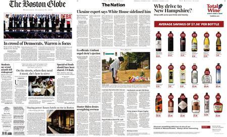 The Boston Globe – October 16, 2019