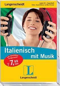 Langenscheidt Italienisch mit Musik - Audio-CD mit Begleitheft und Mini-Sprachführer