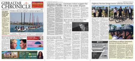 Gibraltar Chronicle – 23 July 2019