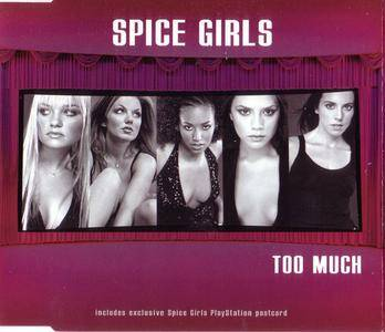 Spice Girls - Too Much (UK/US CD singles) (1997) {Virgin} **[RE-UP]**