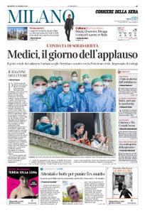 Corriere della Sera Milano – 15 marzo 2020