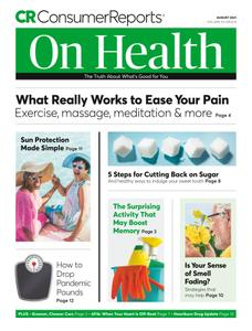 Consumer Reports on Health - August 2021