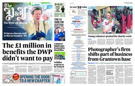 The Press and Journal Moray – June 04, 2019
