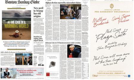 The Boston Globe – September 29, 2019