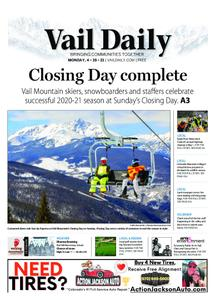 Vail Daily – April 19, 2021
