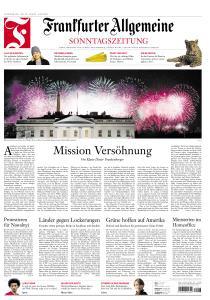 Frankfurter Allgemeine Sonntags Zeitung - 24 Januar 2021