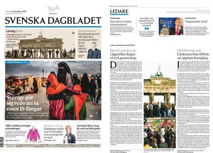 Svenska Dagbladet – 09 november 2019