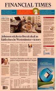 Financial Times UK – 21 October 2019