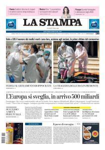 La Stampa Imperia e Sanremo - 10 Aprile 2020