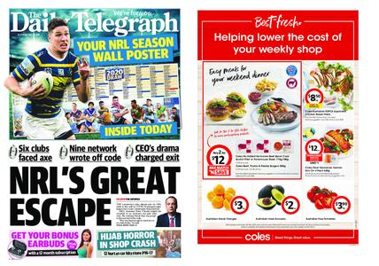 The Daily Telegraph (Sydney) – May 22, 2020