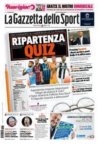 La Gazzetta dello Sport – 15 settembre 2018